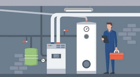Heizungswartung durch den Heizungsinstallateur / Gas Wasser Installateur aus Bielefeld