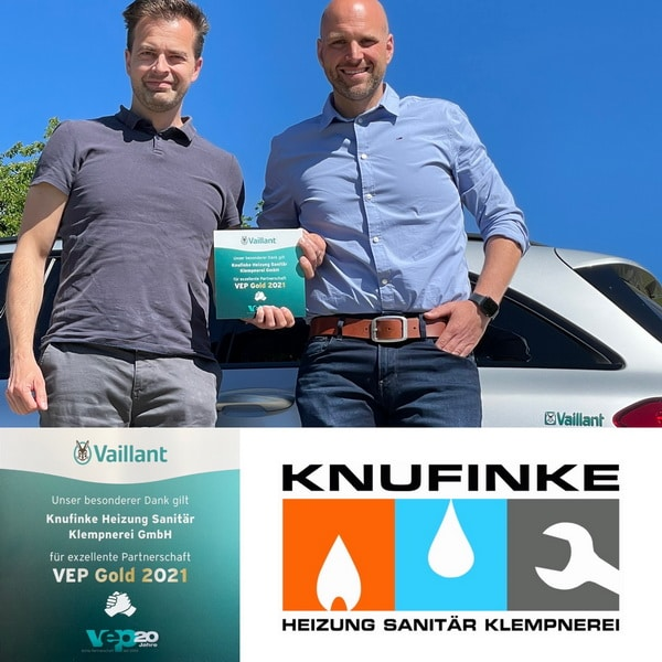 Vaillant Partner Knufinke VEP Gold 2021